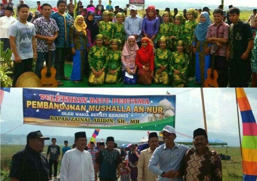 Masyarakat Gantungkan Harapan kepada Wabup Kerinci Zainal Abidin