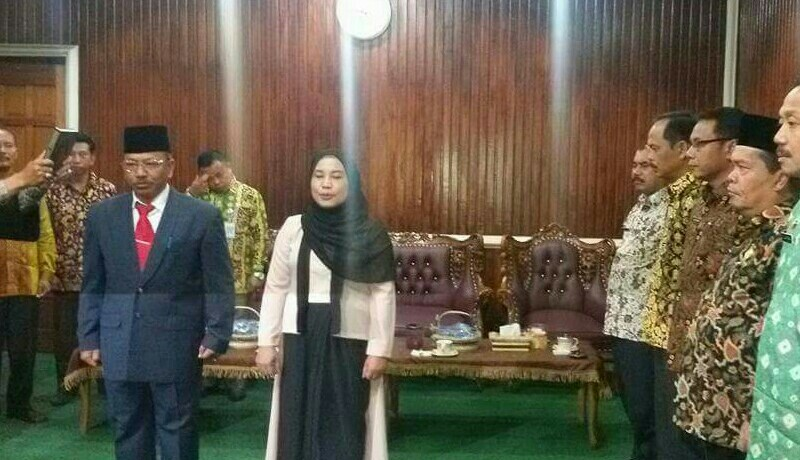 Sekda Kerinci Afrizal HS Lantik 2 Pejabat Eselon III.