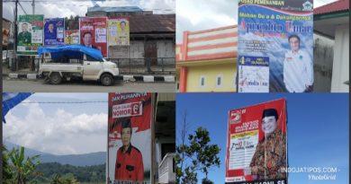 Banyak APK Caleg DPRD, DPR RI Langgar Aturan di Kerinci-Sungaipenuh