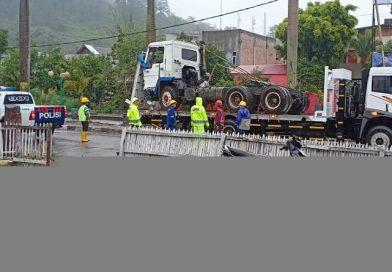 Sopir Truk Trailer Kecelakaan Maut di Kerinci Diamankan Polisi