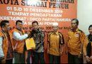 DPC Hanura Kota Sungaipenuh Terima Berkas Pendaftaran dr Medrin Joni