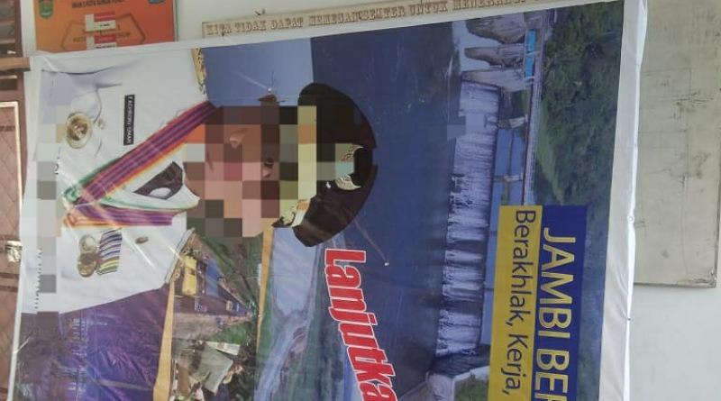 Gawat! Ada Pembuatan Baliho Bacagub Dibuat di Sekolah di Kota Sungaipenuh