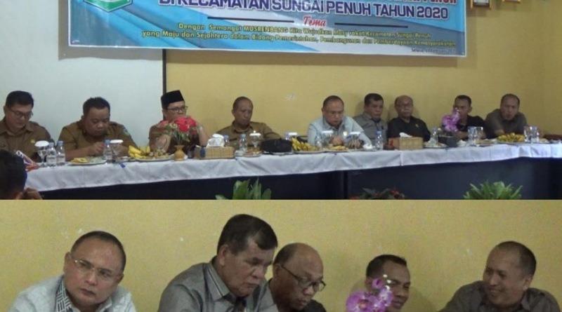 DPRD Sungaipenuh Hadiri Musrenbang RKPD Tingkat Kecamatan