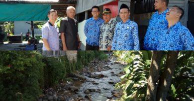 Tinjau Sungai Bungkal, Komisi III Azhar Amzah Minta Dinas PU Segera Bangun Saluran Sekunder