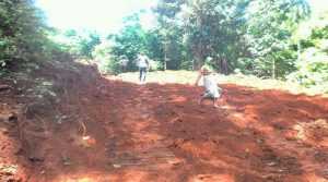 Program TMMD ke 97 Kodim 0311 Pessel Buka Akses Pertanian dan Perkebunan  di Kec Batang Kapas Kab Pessel