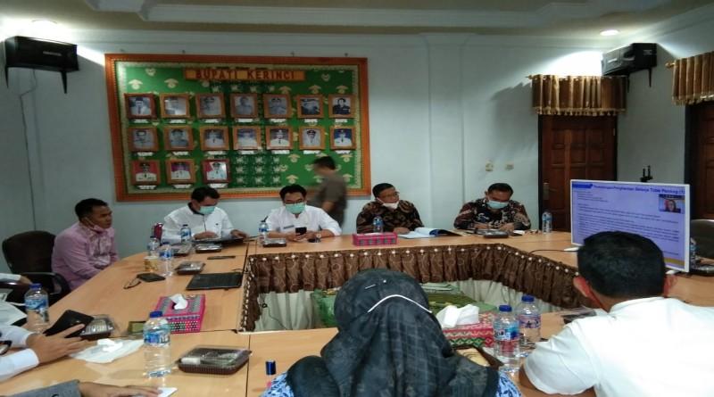 FOTO: Bupati Kerinci, Wabup Bersama Pimpinan DPRD