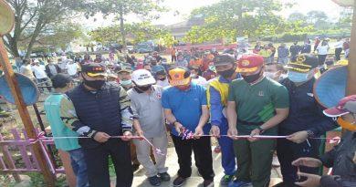 Bupati Adirozal Potong Pita, Objek Wisata Resmi Dibuka untuk Umum