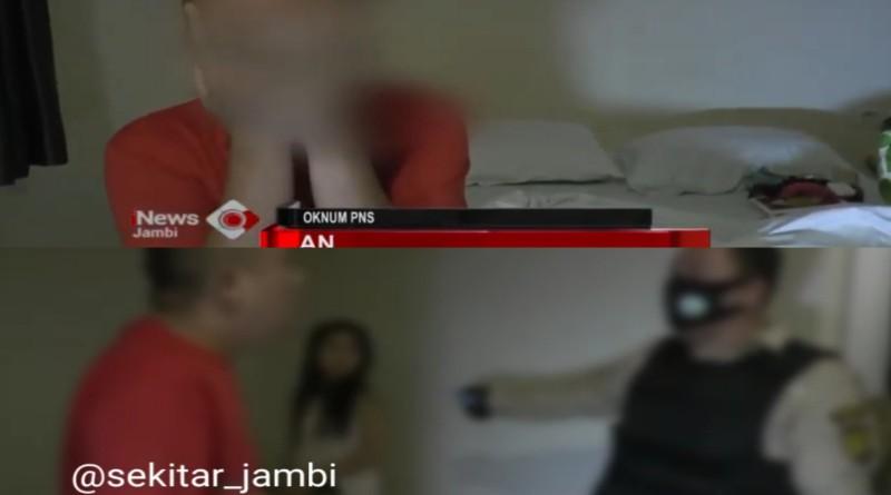 Indehoi di Hotel Jambi, Oknum PNS Kota Sungaipenuh Terjaring Razia