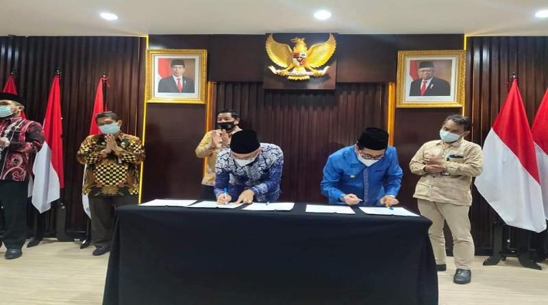 Difasilitasi KPK, Aset Pemkab Kerinci & Pemko Sungaipenuh Tuntas