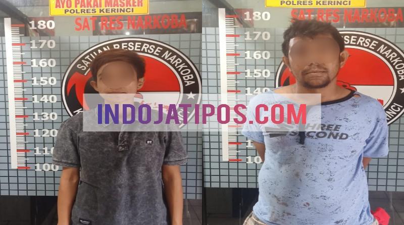 Bisnis Sabu, Wanita Tomboy Ini Ditangkap Polres Kerinci