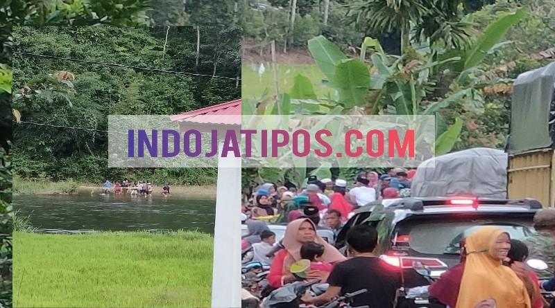 Warga Heboh Penemuan Mayat Mengapung di Sungai Batang Merangin