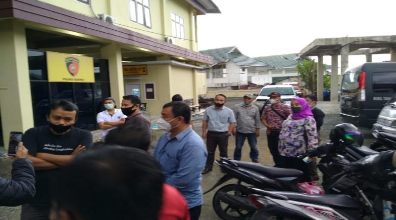 Hina Wartawan, Akun FB Suparmanto Bugis Dilaporkan ke Polisi