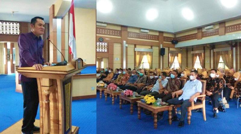 Wawako Antos Buka Acara Public Speaking TP-PKK Sungai Penuh