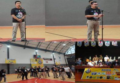 Bersama Ketua KONI, Walikota Ahmadi Membuka Secara Resmi Basketball Competition Season II di DEJ CH
