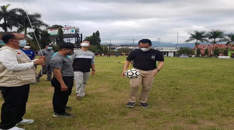 Bersama Ketua KONI, Wawako Antos Buka Turnamen Depati Payung Cup ke-IV